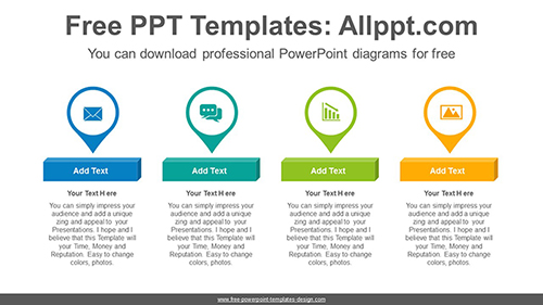 Placemark icon PowerPoint Diagram Template-list image