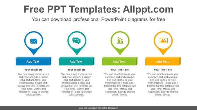 Placemark icon PowerPoint Diagram Template-post image