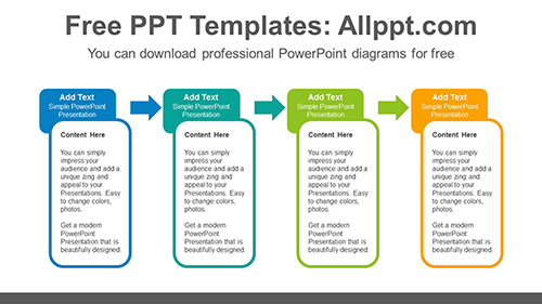 Rounded rectangle banner PowerPoint Diagram Template-list image