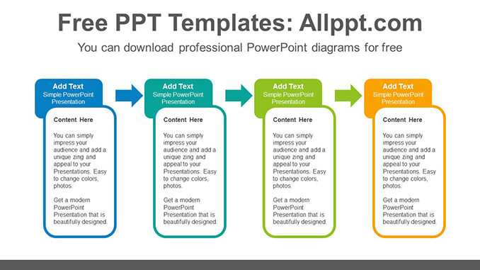 Rounded rectangle banner PowerPoint Diagram Template-post image