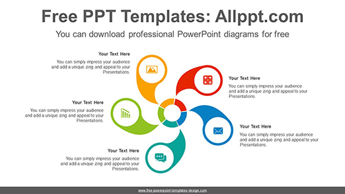 Wheel cycle PowerPoint Diagram Template-list image