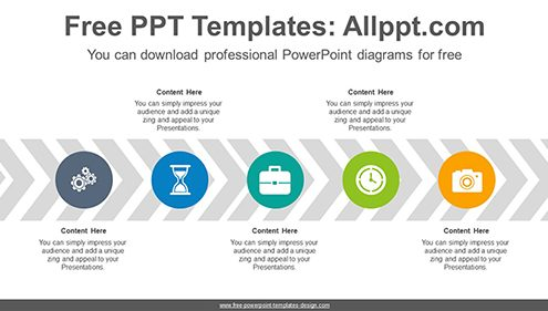 Free powerpoint flow and process diagrams chevron arrow flow powerpoint diagram template list image toneelgroepblik Gallery