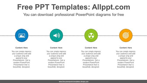 Circle list PowerPoint Diagram Template-list image