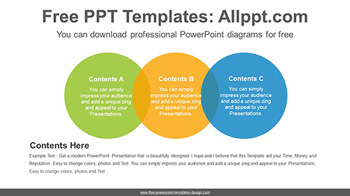 Colorful circle banner PowerPoint Diagram Template-list image