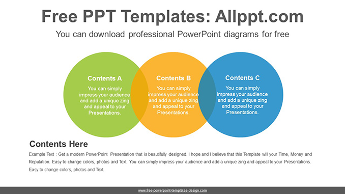 Colorful circle banner PowerPoint Diagram Template-post image