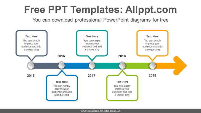 Dot point arrow PowerPoint Diagram Template-post image