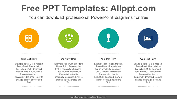 List circles PowerPoint Diagram Template-post image