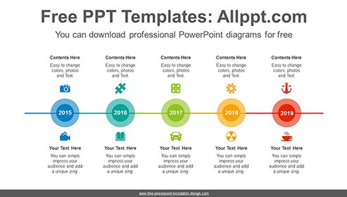 Overlap circle PowerPoint Diagram Template-list image