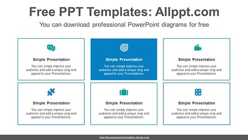 Rectangular banner list PowerPoint Diagram Template-list image
