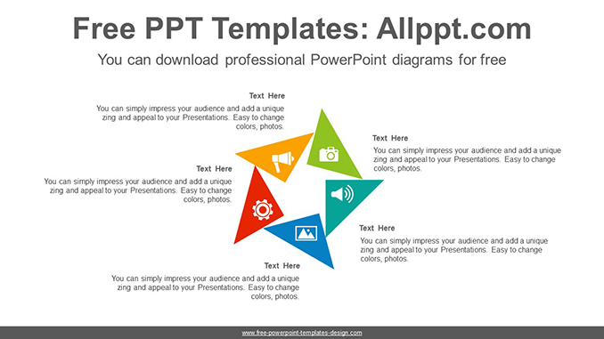 Rotation triangle PowerPoint Diagram Template-post image