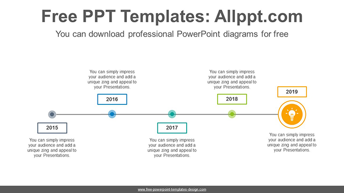 Simple line point PowerPoint Diagram Template-post image