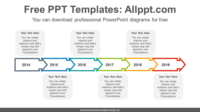 Text box arrow PowerPoint Diagram Template-post image