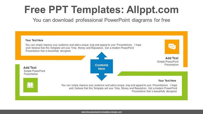 Thick line rectangle PowerPoint Diagram Template-post image